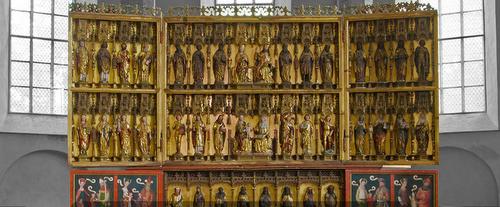 Pyhän Nikolaoksen kirkon pääalttari veistokset Tallinna