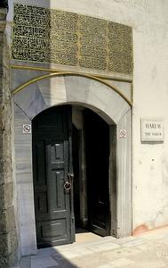 Rattaiden portti haaremiin Topkapi-palatsi Istanbul