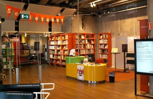 Serieteket Kulturhuset Tukholma