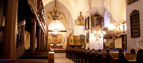 Tallinna Pyhän Hengen kirkko sisätilat