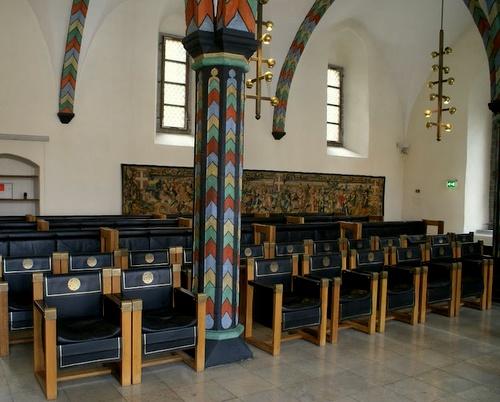 Tallinnan raatihuone kansalaisten halli