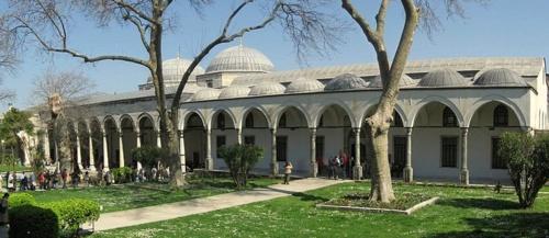 Valloittajan paviljonki Topkapin palatsi Istanbul