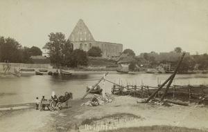 Piritan luostarin rauniot vuonna 1935 Tallinna