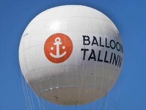 Balloon Tallinn kuumailmapallo lähikuva