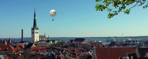 Balloon Tallinna kuumailmapallo