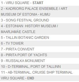 City Tour kiertoajelut vihreä linja Tallinna