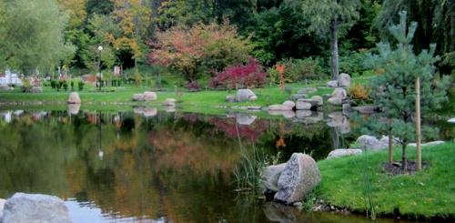 Japanilainen puutarha Kadriorgin puisto Tallinna