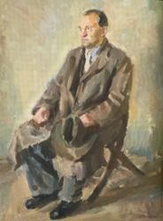 Johannes Mikkel muotokuva