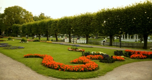 Joutsenlampi Kadriorgin puisto Tallinnassa