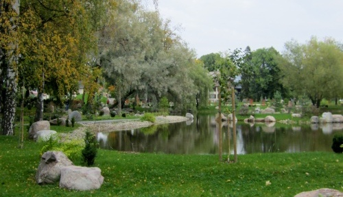 Kadriorgin puiston japanilainen puutarha Tallinna