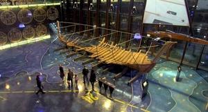 Maasilinn laivanhylky Tallinnan Lentosataman museo