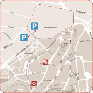 NUKU-nukketeatteri kartta Tallinna