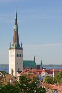 Olevisten kirkko ja torni Tallinna