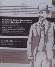 Peeter Süda Viron teatteri-ja musiikkimuseo Tallinna