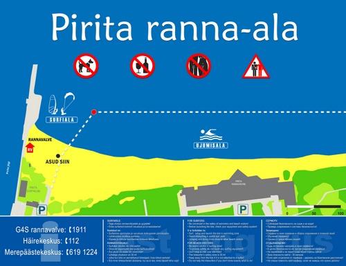 Pirita ranta ohjeet Tallinna