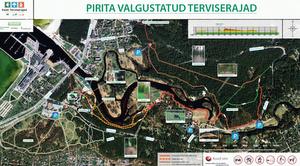 Piritan kuntoradat Tallinna