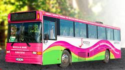 Rocca al mare kauppakeskus ilmainen asiakasbussi Tallinna