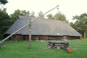 Sassi-Jaani latotalo Viron ulkoilmamuseo Tallinna