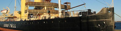 Suur Tõll museolaiva Viron merenkulkumuseo Tallinna