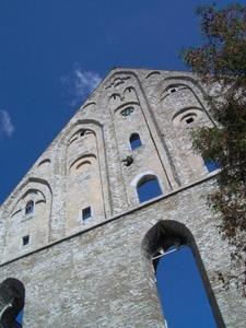 Tallinnan Piritan luostarin raunioiden pääty
