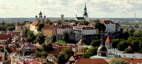 Toompean mäki Tallinnan vanhakaupunki