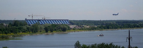 Ülemisten järvi ja Tallinnan lentokenttä