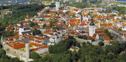 Toompean mäki Tallinnassa