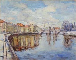 """Villem Ormisson teos """"Tartu vaade"""" KUMU taidemuseo Tallinna"""