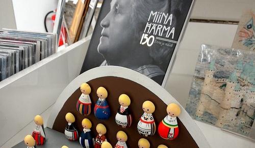 Viron teatteri-ja musiikkimuseon myymälä Tallinna