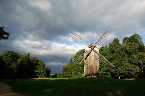 Viron ulkoilmamuseo tuulimylly Tallinna