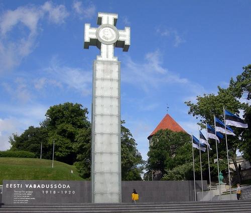 Viron vapaussodan muistomerkki Tallinna