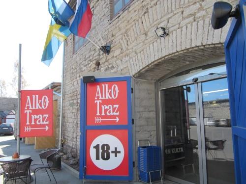 AlkoTraz alkoholikauppa Tallinna