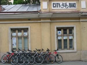 City Bike polkupyörävuokraus Tallinna