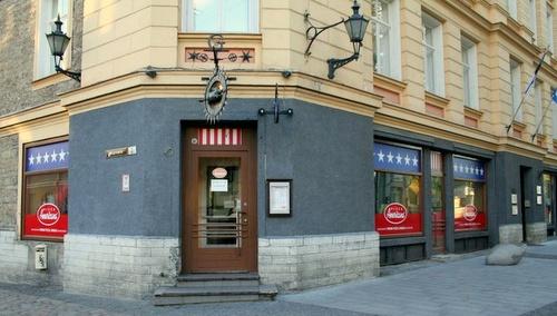 Pizza Americana Tallinnassa