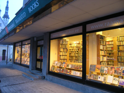 Raamatukoi Harju 1 Tallinna kirjakauppa