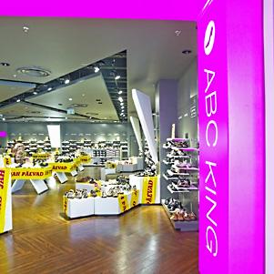 ABC King kenkäkauppa Kristiine Keskus Tallinna