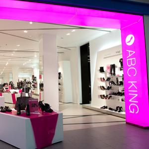 ABC King kenkäkauppa Rocca al Mare kauppakeskus