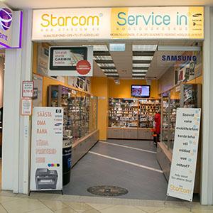 Starcom / Service In Kristiine Keskus Tallinna