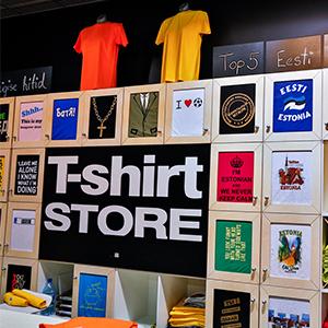 T-shirtstore Tallinna