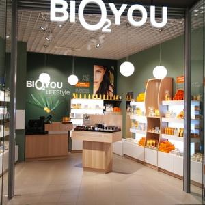Bio2You kosmetiikkakauppa Ülemiste Keskus Tallinna