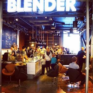 Blender mehukahvila Ülemiste Keskus Tallinna