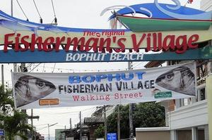 Bophut Beach kalastajakylä Koh Samui Thaimaa
