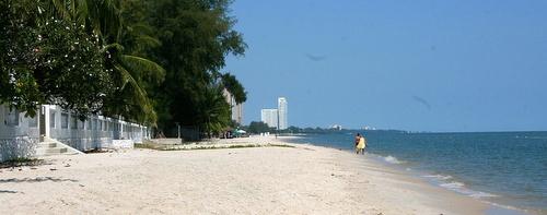 Cha Am ranta-alue Thaimaa