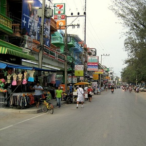 Cha Am Seven Eleven Thaimaa