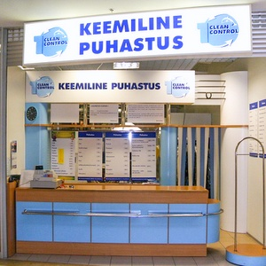 Clean Control pesula Ülemiste Keskus Tallinna
