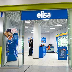 Elisa myymälä Rocca al Mare kauppakeskus Tallinna