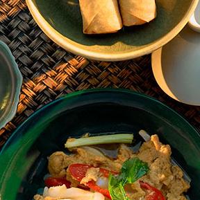 Hua Hin ruokailu Thaimaa