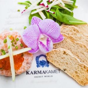 Karmakamet ruokailu Koh Samui Thaimaa