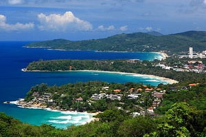 Kata Beach näköalapaikka Thaimaa