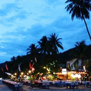 Koh Chang ravintola Thaimaa